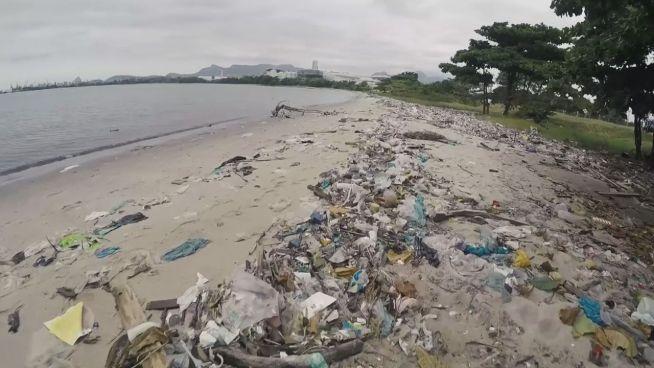 Segeln im Müll? Rio 2016 wird schmutzig