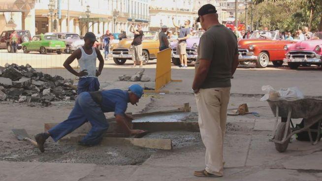 Alles neu: Kuba putzt sich für Obama raus