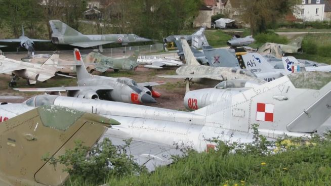 Bloß keine Briefmarken: Franzose sammelt Kampfjets