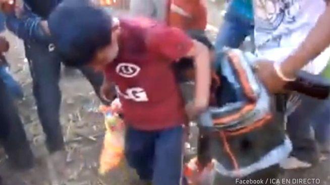 Kaum fünf und betrunken: Alk-Video schockt Peru