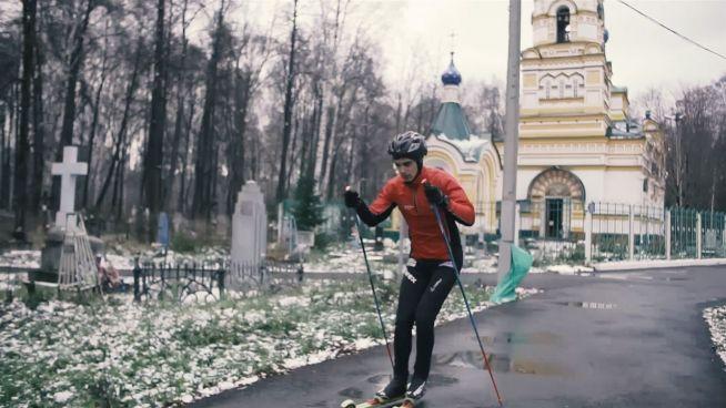 Ski auf dem Friedhof: Russische Sportler im Kreuzfeuer