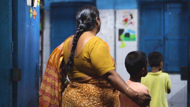 Rotlicht-Kinder: Eine sichere Insel in Neu-Delhi