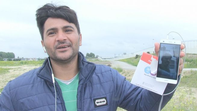 Kontakt mit Zuhause: Flüchtlinge bekommen gratis Wi-Fi