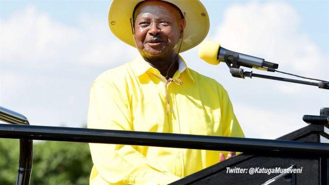 Neue Geburtsurkunde: Ugandas Präsident plötzlich jung