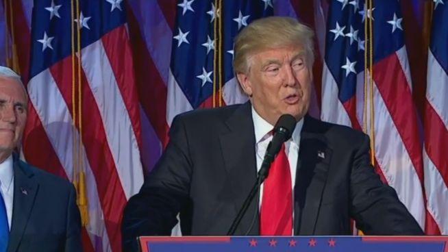 So gespalten wie nie: Reaktionen auf Trump-Sieg