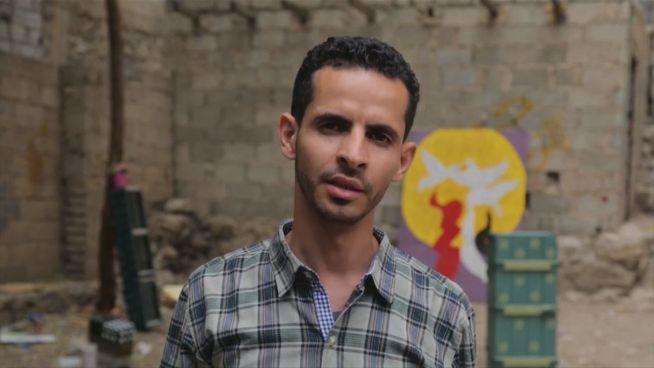 Jemen: Dieser Mann macht aus dem Krieg Kunst