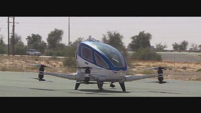 Hallo Zukunft: Dubai bekommt selbstfliegende Taxis