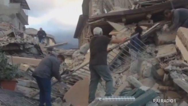 Italien: Tote und Verletzte nach Erdbeben