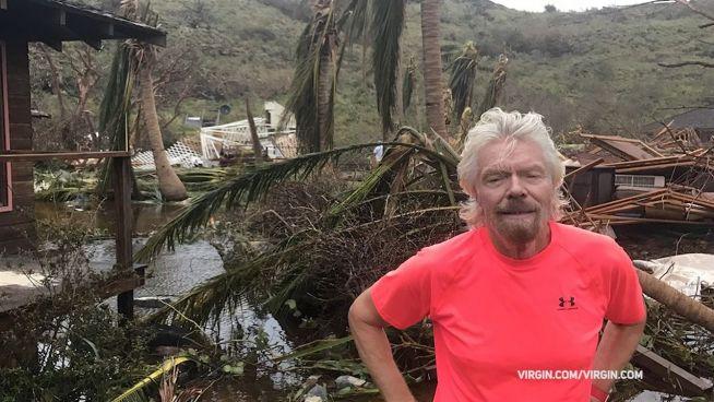 Kein Halt vor Reichen: Irma zerstört Branson-Insel