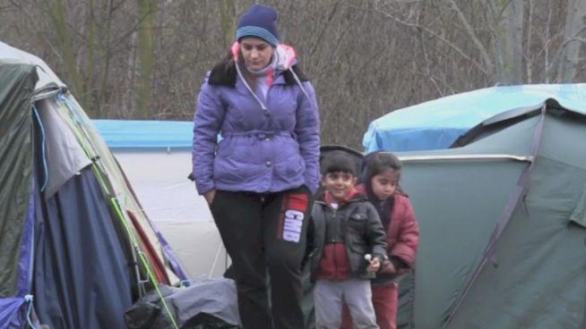 Blick in französisches Flüchtlingscamp: Ist das Europa?