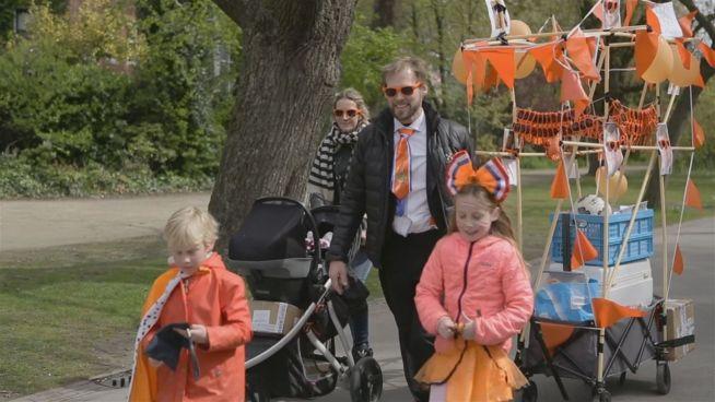 Kinder an die Macht: Holland feiert Königstag