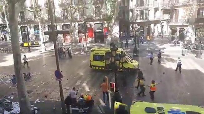 Barcelona: Mindestens 13 Tote und 100 Verletzte