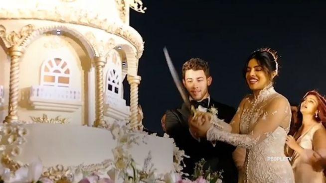 So verrückt war die Torte bei Nick & Priyankas Hochzeit