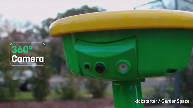 Grüner Helfer: ET´s Bruder checkt den Garten