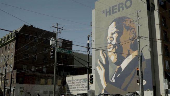 Eine Stadtführung zu Ehren von Martin Luther King Jr.