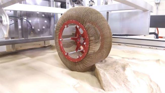 Spaciger Reifen: NASA-Neuheit macht mobil für den Mars