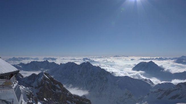 Wie am Nordpol: -27 Grad auf der Zugspitze
