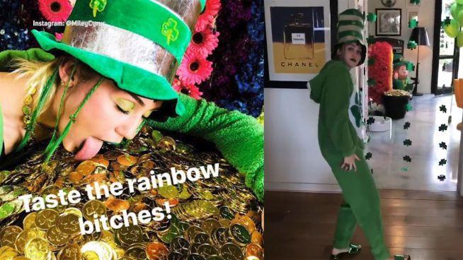 St. Patrick's Day: So grün feierten die Promis