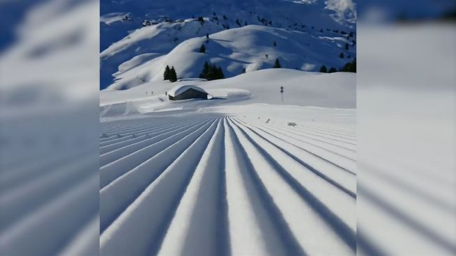 Das weiße Rauschen: Ski-Piste verwirrt Sinne