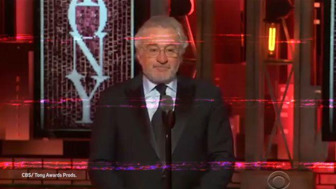 #TuckFrump: Das sagt Robert De Niro bei den Tonys