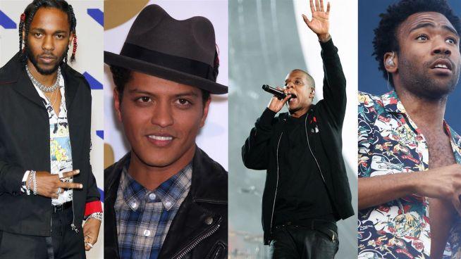 Grammys 2017: Jay-Z vs. Lorde, Bieber vs. Weeknd