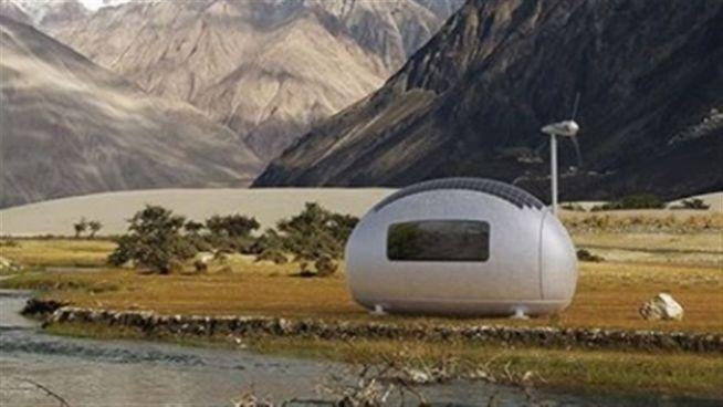 Haus der Zukunft? Mini-Kapsel versorgt sich selbst