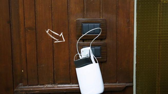 DIY: Smartphone-Halter