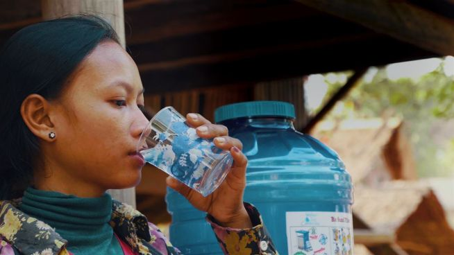 Trinkwasser für Kambodscha