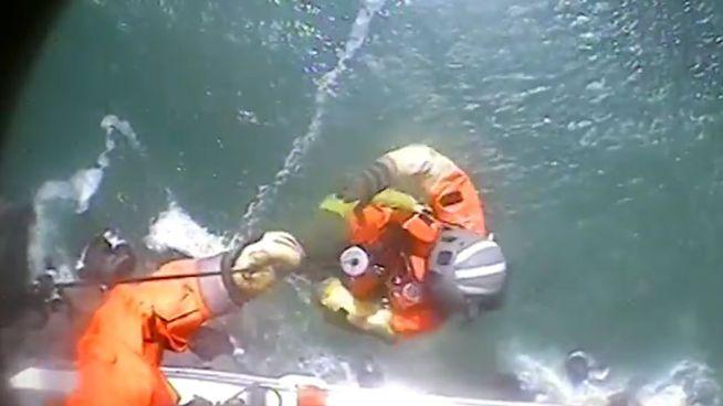 Dramatische Rettungsaktion: Wanderer an hoher Klippe gestrandet