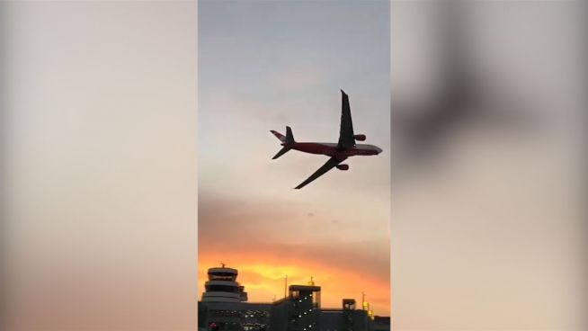 Abschiedsmanöver: Letzter Air-Berlin-Flug startet durch