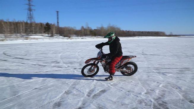 Young & Extreme: Mit dem Bike über Eis und Schnee