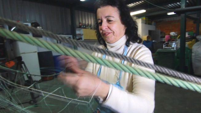 Vergessene Berufe: Spaniens Netzfrauen, die 'Rederas'