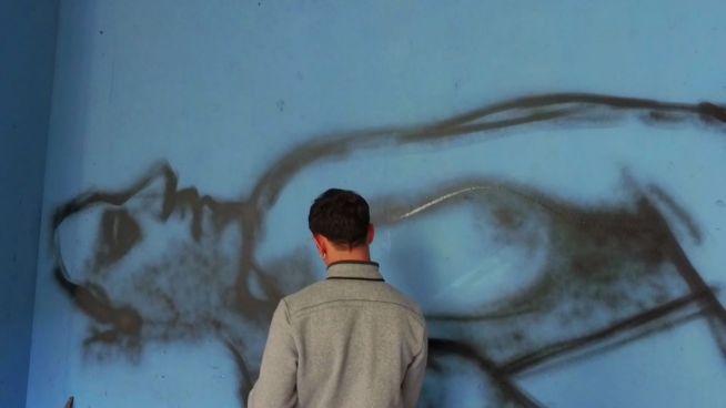 Bunt, anonym, illegal: 'Riky Boy' bemalt Mailand