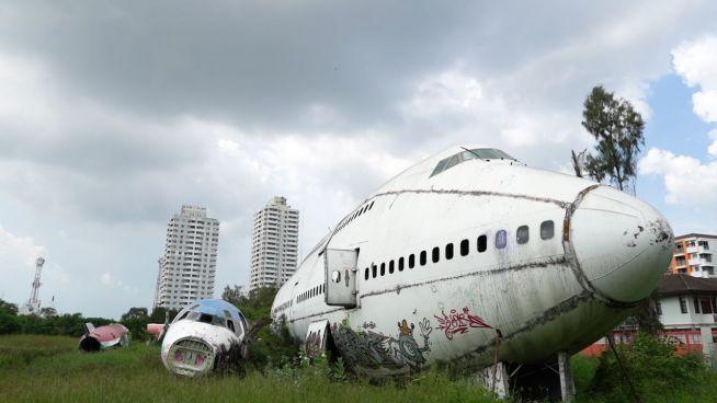 Vergessene Orte: Der Flugzeug-Friedhof