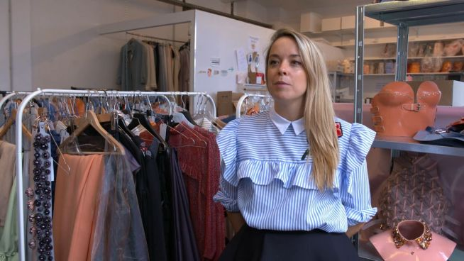 Nach Rihanna und Gaga: Leder-Designerin in Berlin