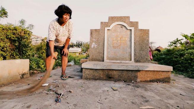 Leben unter Toten: Friedhof zum Wohngebiet gemacht