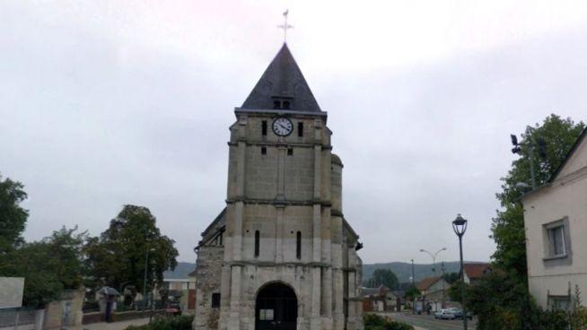 Geiselnahme in französischer Kirche: Täter war bekannt