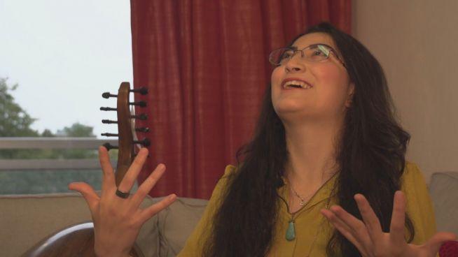 Nach der Flucht: Syrerin findet Freiheit in Musik