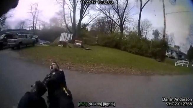 Ausgeartete Festnahme: US-Polizist tasert Kollegen