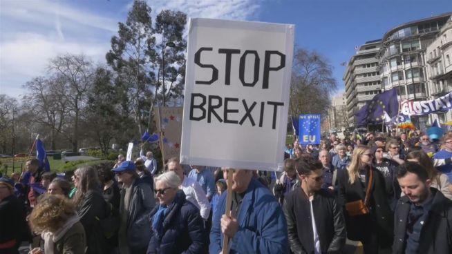 March for Europe: Zehntausende kämpfen gegen Brexit