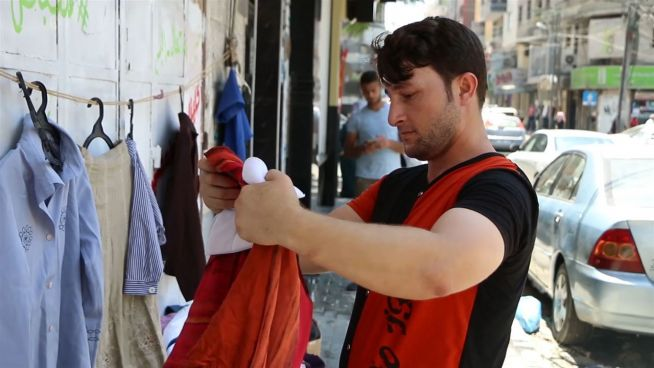 Mode an der Mauer: Gratis-Secondhand nach Gaza-Art