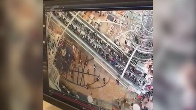 18 Verletzte: Horror-Rolltreppe ändert die Richtung