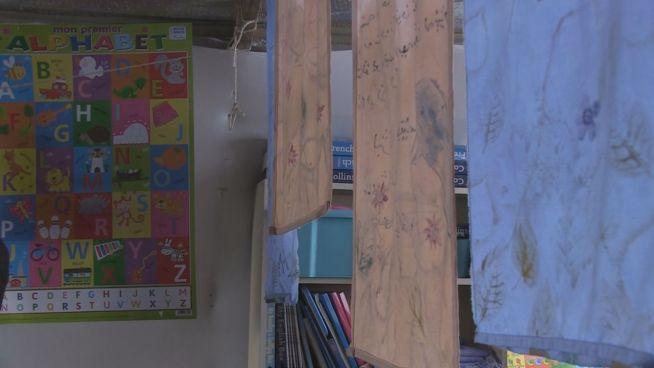 Mitten im 'Dschungel' von Calais: Zuflucht Schule