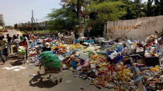 Hunger trotz Essen: Kenianischer Supermarkt geräumt