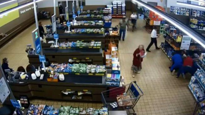 Zivilcourage im Supermarkt: Kunde überwältigt Räuber