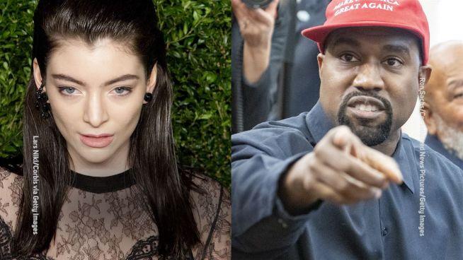 Lorde legt sich mit Kanye West an