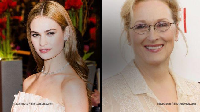 Plötzlich verwandt: Meryl Streep und Lily James