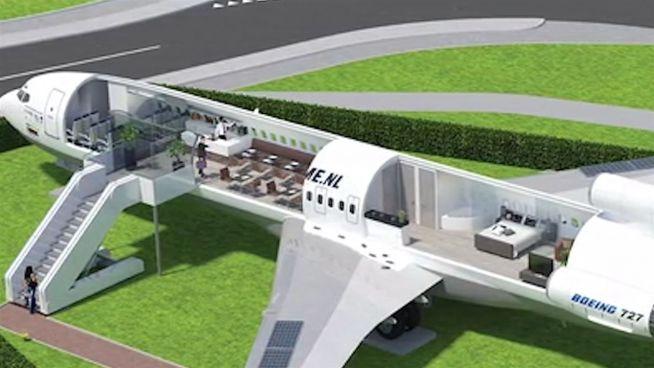 Flugzeughotel: Kabinenkomfort in weniger luftiger Höhe