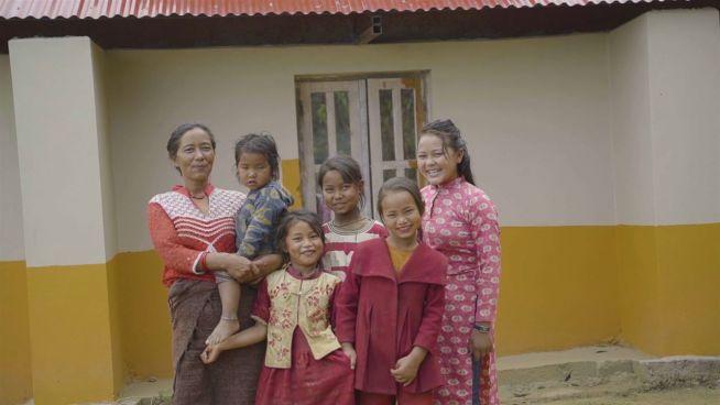 Nepals erdbebensichere Häuser